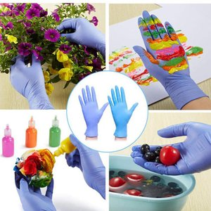 DHL Shipping 20pcs Box Disposable Gloves Latex Universal Waterproof Non-Slip Gloves Nitrile Protective Gloves for Kids Boys Girls X192FZ