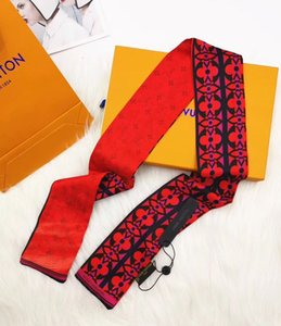 Designer silk scarfs 50cm*50cm size f letters style retro woman headbands ladies ring shawl 3colors top quality