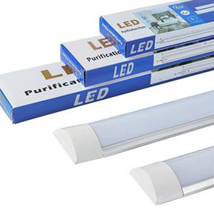 LED Batten Linear Tube Lights Tube LED Ceiling Light purification tube lamp for Office Living Room Bathroom Kitchen Garage Warehous