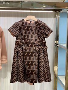 vestido de cumpleaños de las muchachas del vestido del arco del partido del vestido del bebé consumidor princesa superior calidad del envío