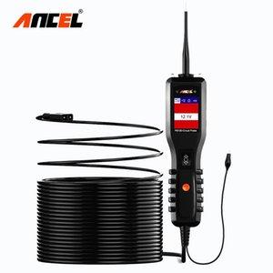 Herramienta de diagnóstico del probador de la batería Ancel PB100 coche 12V / 24V sonda de alimentación del circuito comprobador eléctrico explorador automotor Integrated Power