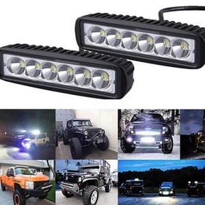 12V 24V Driving Spotlight Off-road 4000LM White LED Work Light Car SUV 2-LED Work Driving Fog Light