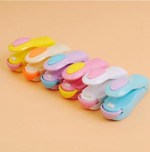 Tragbare Mini-Heißsiegelmaschine magnetischem Boden Impulse Sealer Seal Verpackung Plastiktaschen netten Haupt Vacuum Lebensmittel Sealer TTA1945-11