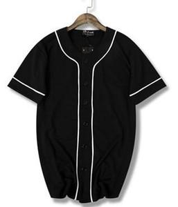 Nouveau T-shirt uniformes de base-ball à manches courtes à séchage rapide, ligne 2019 Hip-hop, de bonne qualité
