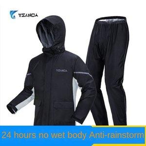 la tormenta de luz fracción respirable motociclista traje impermeable de rainpants de montar la motocicleta de las mujeres los hombres impermeable y