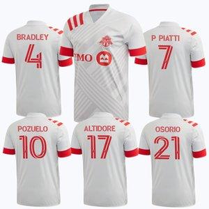 2020 Uniformi 2021 Toronto FC maglie calcio PRINCIPALE Altidore Pozuelo Toronto MORROW BRADLEY Divisa camicie S-2XL