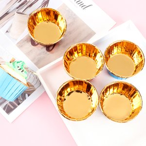 50PCS New Cake Paper Cups Muffin Cupcake Liner Cake Wrappers Baking Cup Tray Case Pastry DIY Tools Party Home & Kitchen Supplies