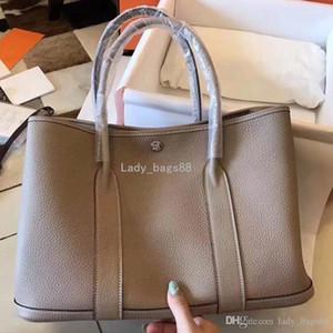 2018 Fashion Designer Luxury Femmes Garden Party Sac à main Designer Sacs à main en cuir commercial fourre-tout Sacs à main Sacs à main Designer Messenger bourse