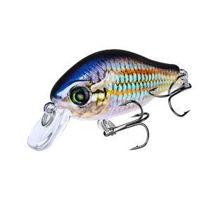 1pcs lot 52mm 8.5g Swim Fish Fishing Lure Artificial Hard Crank Bait Topwater Wobbler Mini Fishing Crankbait Lure Fishing Tackle