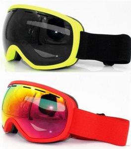 Оптовая продажа-дешевая двухслойная анти туманная поверхность Revo покрытие большая сфера двухслойные анти туманные лыжные очки карта близорукость мужчины и женщины оптом