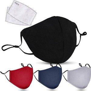 PM2.5 aktif karbon maskesi Tasarımcı yüz maskeleri Anti-duman toz geçirmez saf pamuklu nefes alabilen ilkbahar ve sonbahar moda Kore versiyonu
