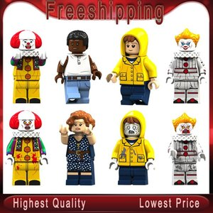 Pennywise Beverly George Chosen Jacobs Bill Mike Stephen King E 'il giocattolo della bambola Xmas Gift Blocks Giocattoli KT1012