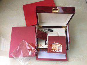 Livraison Gratuite Haute Qualité PP Montre Rouge Nautilus Boîte D'origine Boîte De Documents Certification 5167 5711 5712 5990 5980 Montres
