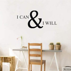 New Fashion Men and Women Wall Decals PVC Self-adhesive Wall Art Stickers Broken Wall Mural Stickers Motivational Room Decoration