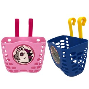 Kids Bike Bicycle Cute Animal Printed Front Basket Durable Stroller Hanging Holder for Children Kids Stroller Accessories