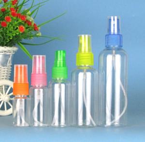 Las últimas botellas transparentes de 10-100ml de transparencia. Sostenga cualquier líquido, un pequeño spray para bebidas, mascotas, cosméticos