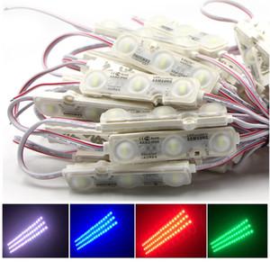 LED وحدة إضاءة SMD 5730 3LEDS IP68 للماء دافئ الأبيض الأبيض DC 12V الإعلان ضوء بقيادة تسجيل الخلفية الخفيفة