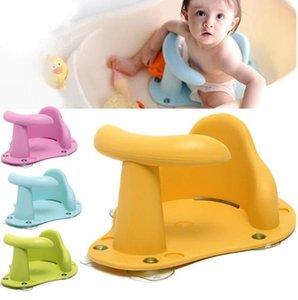 Banheira assento Banho de Bebé Pad Mat Cadeira de Segurança Segurança Anti Slip Baby Care Crianças de banho de assento de lavagem Brinquedos Quatro 37,5 centímetros Cor