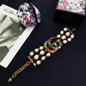 2020 luxury designer jewelry women bracelets colorful beaded designer bracelet for gift vintage fashion bracelet free ship