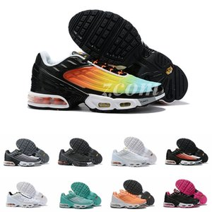 Nike Air Max Plus 3 TN Turned Running Shoes Women Mens Designer Sneakers requin tns chaussures femme Homme mercurial Trainers Taquets Scarpe