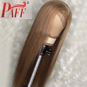 Silk Straight Blonde Color Human Hair Wigs 13x6 Lace Front Pre Plucked Peruvian Remy Hair Wigs with Baby Hair