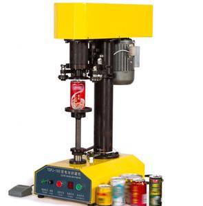 Profesyonel Yarı Otomatik İçecek Soda Teneke kutu kapatma makinesi Teneke Sealer / Kapatma Makinesi İçin Alüminyum Kutular Dolum Makinesi