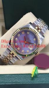 8 relojes estilo caliente de venta unisex 36 mm 116234 279173 178274 279138 Fecha de esfera de diamante solo Asia 2813 Reloj mecánico automático unisex