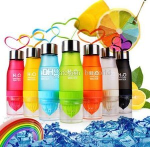 Cup The New Lemon Cups Colorful Gift Heat Resistant Trophy Scrub H2O Drinking More Water Bottles Plastic Juice Yellow Black Bottle