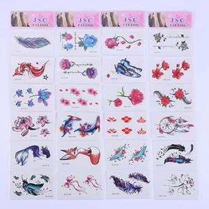 Wholesale small fresh tattoo sticker geometric tattoo sticker cute cartoon tattoo paper