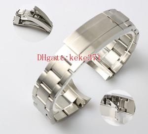 Topseller Hohe Qualität 21mm 116660 Uhrenarmbänder Edelstahl Armband Schnalle Bereitstellung Sicherheit Faltschließe Für Sea-Dweller
