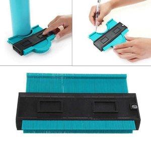 Medidor de plástico Contour Perfil Cópia calibre Duplicator Padrão 5 Largura de madeira Marcação Ferramenta Tiling Laminado telhas Geral ferramenta de mão Ferramentas