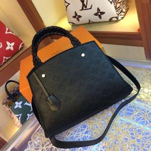 2020 yeni bayan moda tasarım çanta lüks kaliteli bayan tek omuz diyagonal kova çantası kabuk çanta zincir çanta modeli: M44671