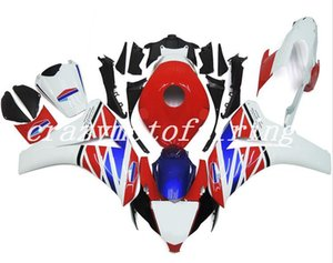 4Gifts New ABS Injection Molding motorcycle Fairings Kits 100% Fit For Honda CBR1000RR 08 09 10 11 2008-2011 bodywork set white red blue