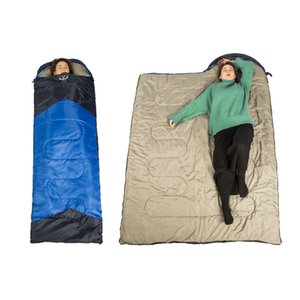 Outdoor Camping Adult Envelope Can Be Spliced Legs Is Spring and Summer Camping Sleeping Bag Ultralight Sleeping Bag