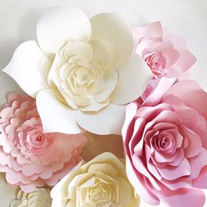 JOY-Enlife decorazione Wedding 2pcs 20 centimetri 3D Paper Flowers Bambini festa di compleanno, Scenografia, Decorazione gallina forniture da parte della stanza domestica Decor
