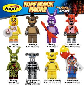 KF6071 Single Sale Building Blocks Action Cartoon Movie Ballonboy Chica Freddy Foxy Spintraft Bricks Figures Gift Toys For Kids