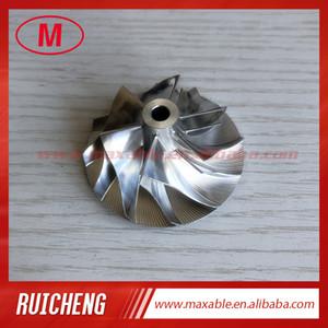 GT15-25 451584-0010 36,08 / 52,19 milímetros 6 + 6 lâminas turbo tarugo / alumínio 2618 roda de moagem / compressor para 727265/727264
