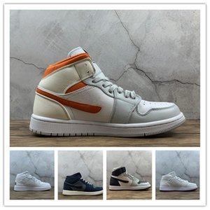 1s sneakers scarpe da skate di pallacanestro scarpa da tennis delle stelle marine dei jeans Pure Platinum On Tour Blue Game Reali formatori bambini uomini donne