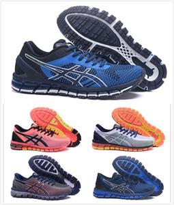2020 Asics Gel-Quantum 360 original G decoloración de los zapatos corrientes de los hombres de calidad superior botas de deporte zapatilla de deporte de los zapatos Tamaño 36--46