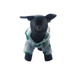 Protector solar perro camisa de la capa hoodies Proveedor animal doméstico del perro sudadera verde azul colorido de la impresión