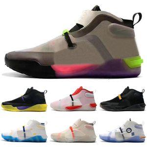 Новый Lakers Ad Nxt FF FastFit Обширные Серый Mamba день EP Баскетбол обувь 12s 12 Sail Multicolor All Star Мужские кроссовки спорта Size40-46