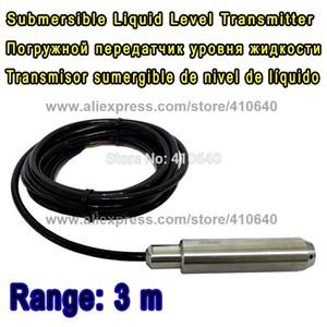 Ряд 3 метра с кабелем 4m погружающийся жидкостный ровный датчик датчика уровня тип входного сигнала ровный датчик другой ряд одобрен