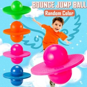 Pogo Ball Hopper Sport High  Bounce Jump Board Ball Fitness with Inflating Pump for Kids
