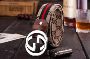 2019 cinturones de lujo de moda para hombres hebilla diseñador cinturones de castidad masculina marca de moda para hombre cinturón de cuero al por mayor envío de la gota 124