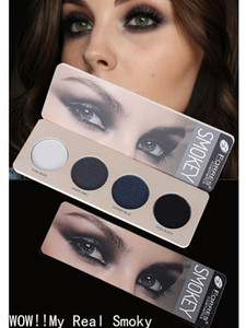 Farres smoky Eyeshadow palette 4 цвета голая земля синий серый фиолетовый пигмент водонепроницаемый прочный матовый порошок тени для век AM137