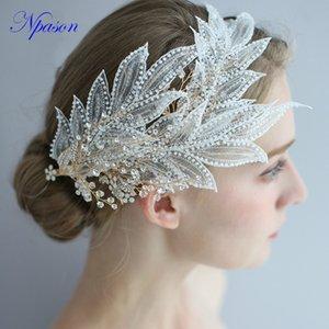 Braut Tiara Mode Haarschmuck Hochzeit Haarschmuck Frauen volles Kleid Hairpin des neuen Entwurfs Yarm Kopfbedeckung Spitze Hair Legierung so schön