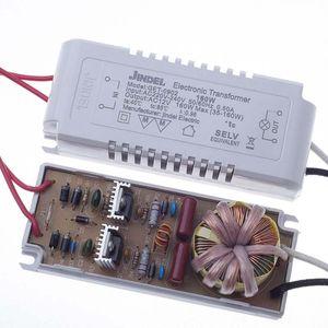 Transformateur électronique halogène Lampes AC220V 160W Transformateur électronique pour lampe halogène G4 Beads Coupe lampe