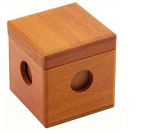 Cubo di legno 3D Puzzle Iq Test Mind Rompicapo in legno Gioco per adulti Bambini