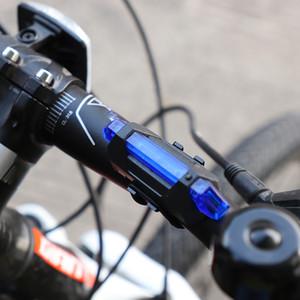 Cauda Bike Light Bicicleta LED recarregável Luz USB Aviso Traseiros Segurança bicicleta Super Bright portátil Flash Light