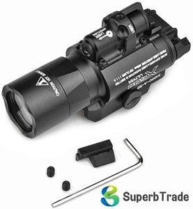 크리 XP-G R5 LED 화이트 라이트와 레드 전술 조명 검은 밤 - 진화 X400U 손전등 X400 울트라 스카우트 라이트